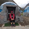 Luxury geodesic domes provided us cozy accommodation on our chilly first night. Many of us had fitful sleeps due to the high altitude of 3880 meters.