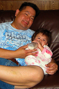 Cly and his little girl