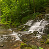 Fulling mill waterfall on Shawnee Run