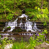 Fulling mill waterfall on Shawnee Run 2