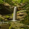 Flat Lick Falls, summer