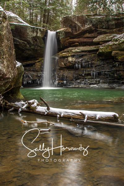 Flat Lick Falls, Winter 3
