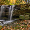 McCammon Branch Falls-Autumn