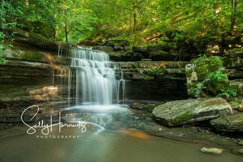 Overstreet Creek cascade