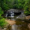 Lower Lily Creek falls 1