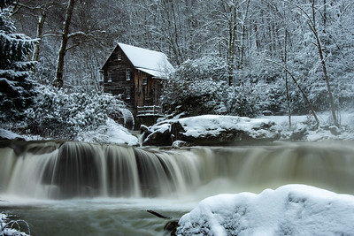 Glade Creek Grist Mill 1