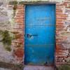 Blue Door: Tuscany