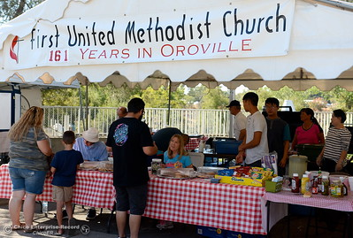 during the Salmon Festival in Oroville, Calif. Saturday, Sept. 22, 2018.(Bill Husa -- Enterprise-Record)