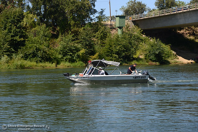 Anglers report the salmon aren't biting on opening day, Saturday, July 16, 2016, on the Sacramento River at Woodson Bridge State Recreation Area in Corning, California. (Dan Reidel -- Enterprise-Record)