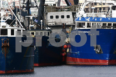 Salmon fishing boats at Fishermen's Terminal, Seattle