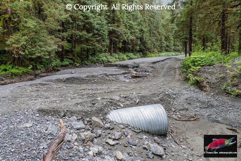 Flood infrastructure damage