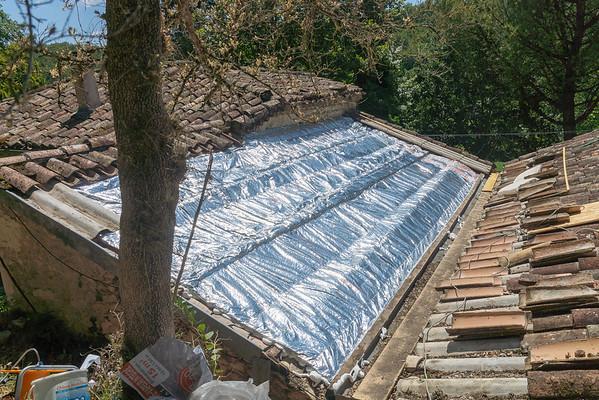 Salon Roof Insulation 2018