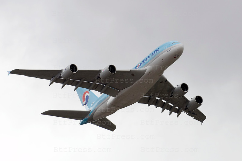 Airbus A380 during the Salon du Bourget 2011