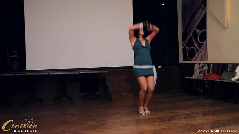 Meli's chacha performance