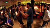 Adrian Tenorio and Adri social dancing at Sabor Latino Festival, Budapest. Location: Café Jubilee