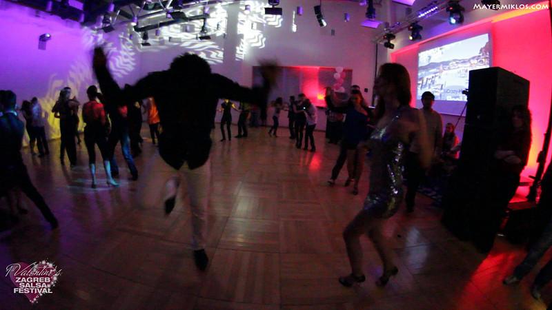 Terry and Tajana social dancing at Zagreb Salsa Festival. Music: Ruben Blades - Plastico