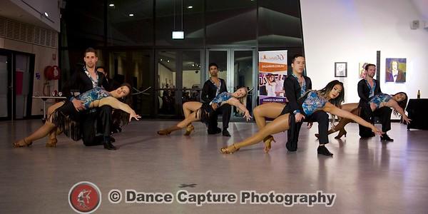 Bachata A Team performance
