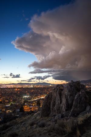 Salt Lake City Twilight