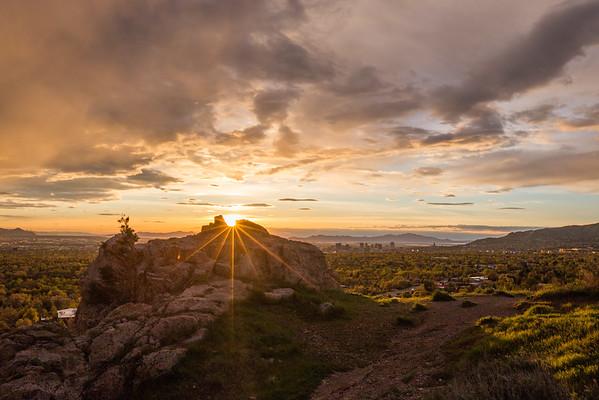 Salt Lake Sunburst