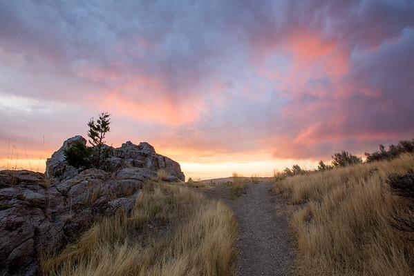 Foothill Sunset II