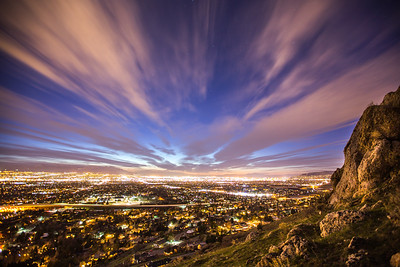 Salt Lake Nightscape
