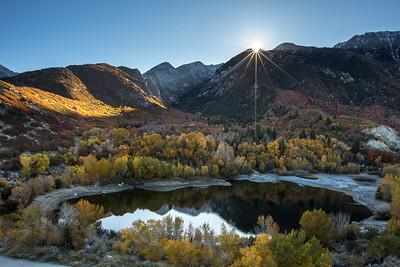 Autumn Sunrise Over Bells Canyon