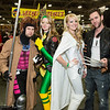 Gambit, Rogue, Emma Frost, and Wolverine