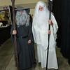 Gandalf the Grey and Saruman