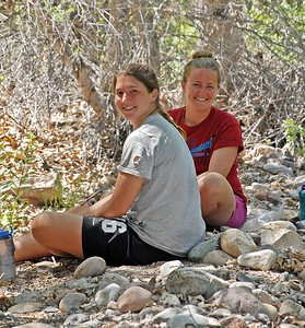 Megan and Jessica at Coon Creek