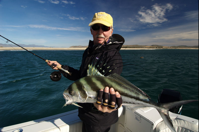 Roosterfish, Dan Dryer, Cabo San Lucas, MexicoBlue Water Fly Fishing