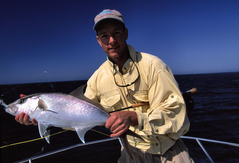 Amberjack, Ross Purnell, Cabo, Blue Water Fly Fishing