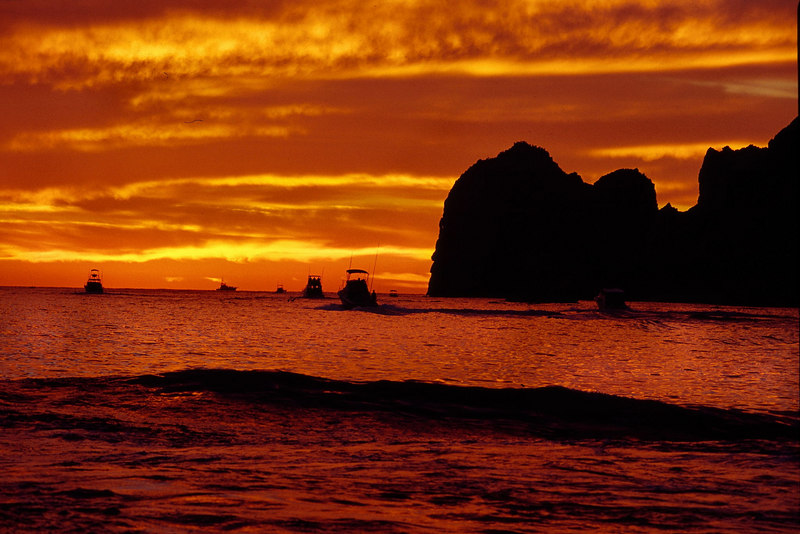 Scenic, Sunrise, Cabo, Blue Water Fly Fishing