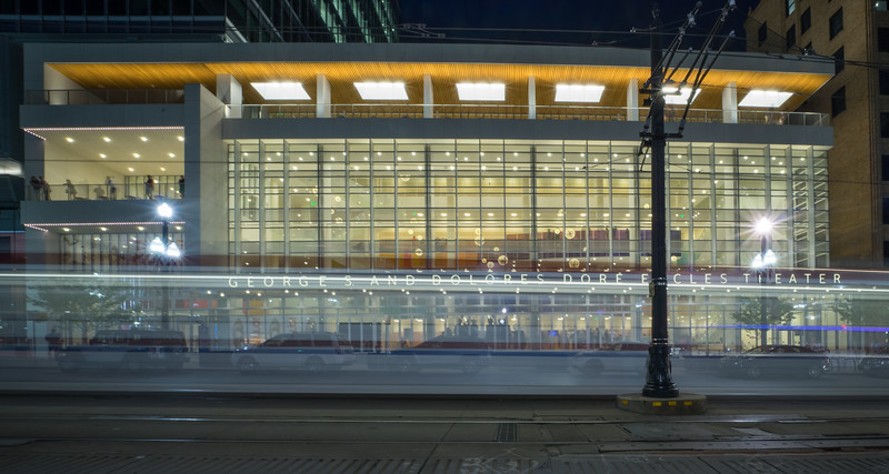 Eccles Theater  at Night 3