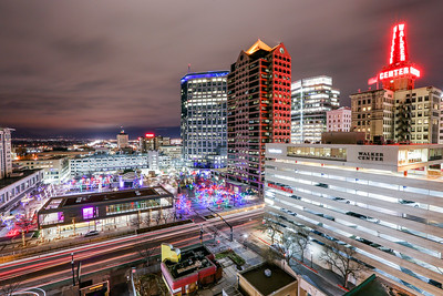 Gallivan Center at Night