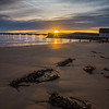 Sunrise over Saltburn pier