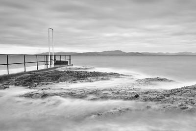 High Tide at Salterstown Pier-1L8A1126