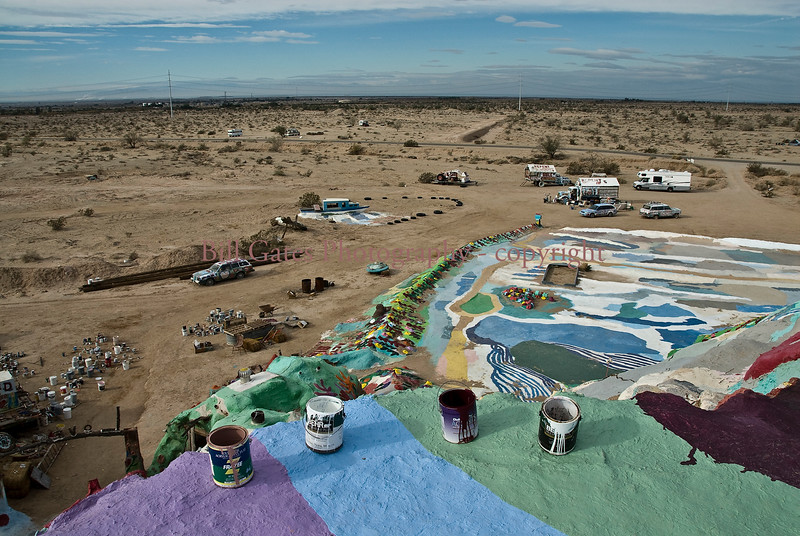Top of Salvation Mountain