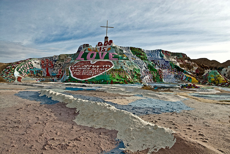 Salvation Mountain - Niland, California