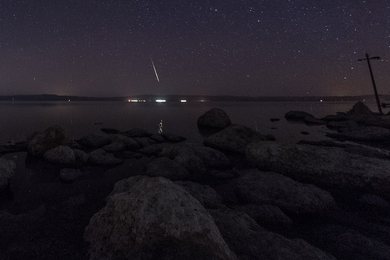 Meteor Over the Salton Sea