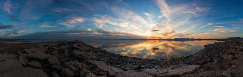 Spectacular Sunday Salton Sea Sunset