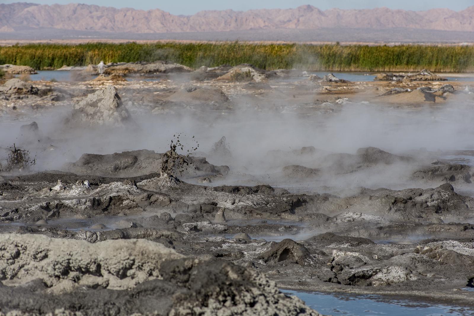 "The ""new"" mudpots / mud volcanoes at the Salton Sea"