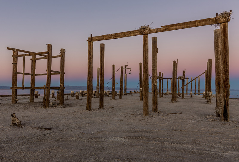 One More Shot of the Remains of the Pier