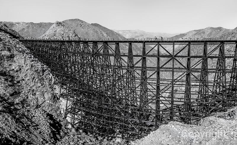 San Diego and Arizona Eastern Railroad World's Largest all wood trestle
