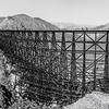 San Diego and Arizona Eastern Railroad World's Largest all wood trestle