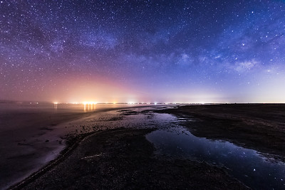 Milky Way Over the Salton Sea