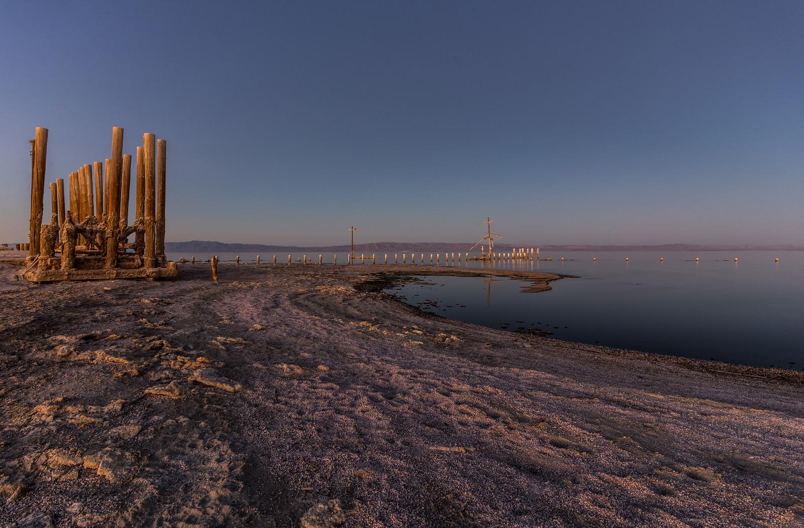 Crusty Shore of the Salton Sea
