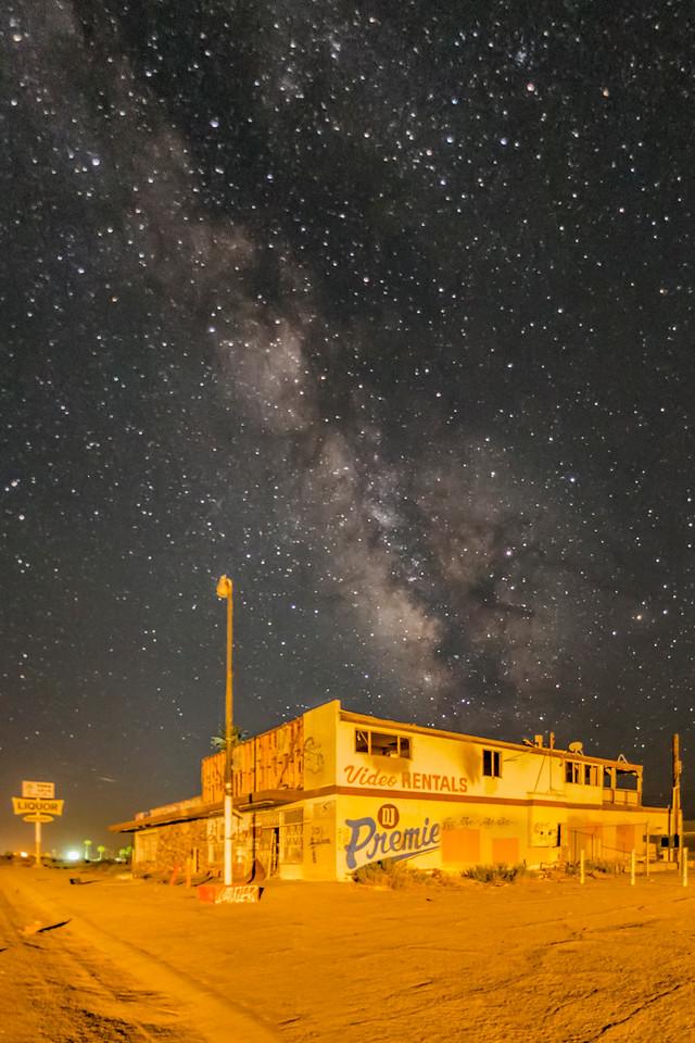Milky Way Above Trevor's Meth Lab