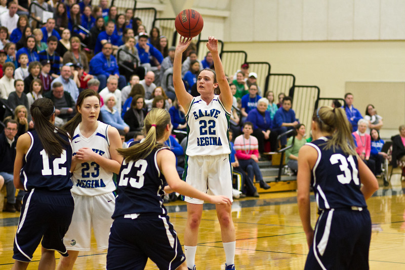 Salve vs Endicott Women's Basketball 2/25/12
