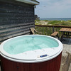 Private Hot Tub with Ocean Views and Deck Seating