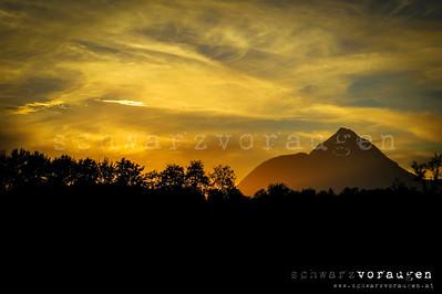 salzburg - sunset